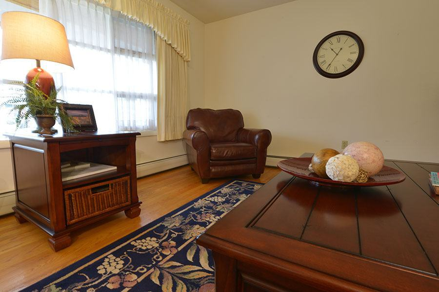 Living Room in Residential Treatment Home